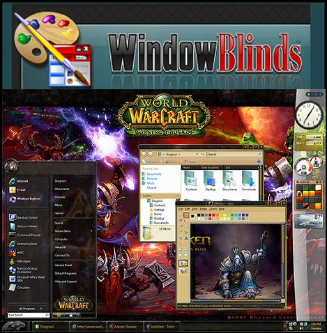 �������� ������ ������ ���� ������� ������ ��� ������ Stardock windowblinds 7.3.310